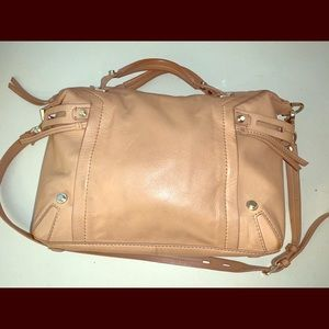 Genuine Soft Leather Satchel
